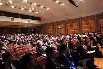 YNU研究イノベーション・シンポジウム2018会場の様子