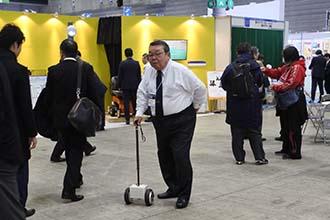 テクニカルショウヨコハマ2019 さがみロボット特区YNU展示ブース展示品テスト